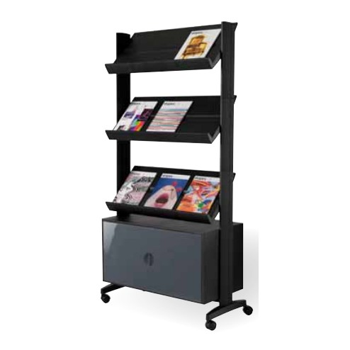 Floor Standing Literature Rack