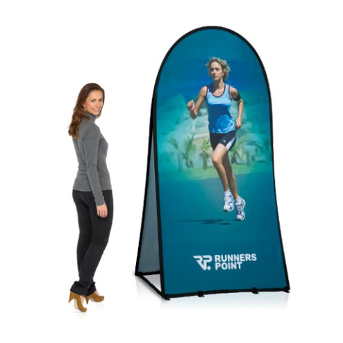 Vertical Pop Up Banner