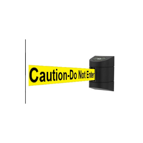 Caution do not enter belt barrier - - Tensator