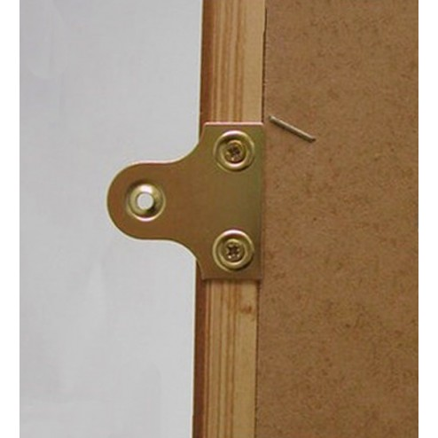 Screw to the wall fixings - more secure