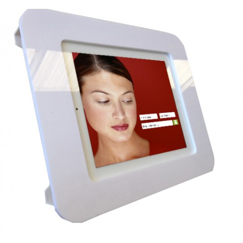 Use Wall Mounted iPad Display Portrait or Landscape