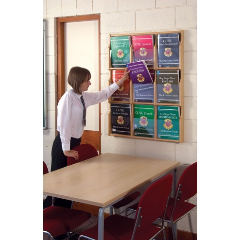 Ideal brochure holder for schools