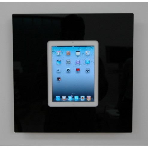 Square bezel tablet display