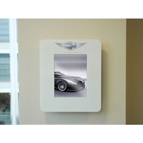 Wall Mounted Display Fixtures : Wall Mounted Tablet Display