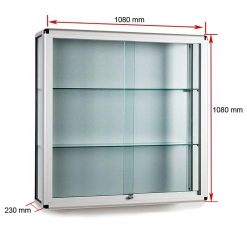 Dimensions of anodised aluminium case