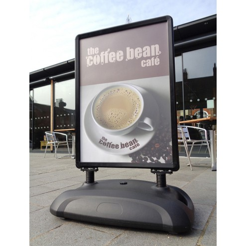 Waterbased Pavement Sign - Black