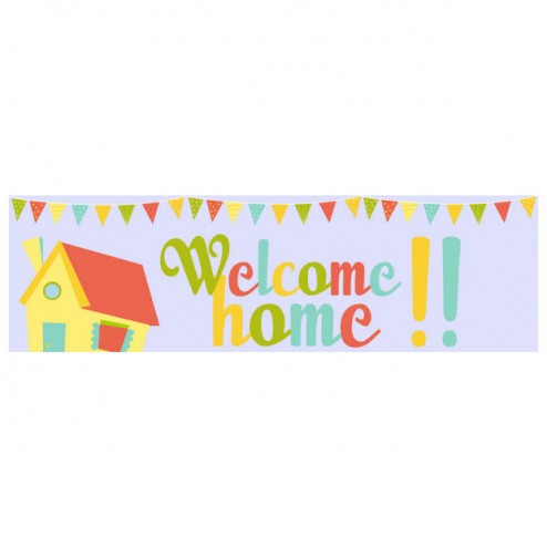 Banner - Welcome Home - 391