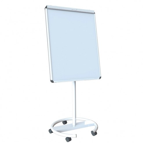 White mobile whiteboard