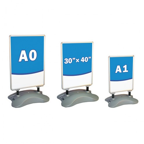 Other size forecourt signs available