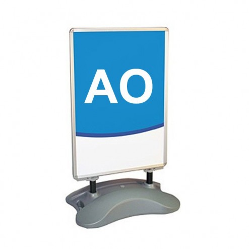 A0 Forecourt Sign