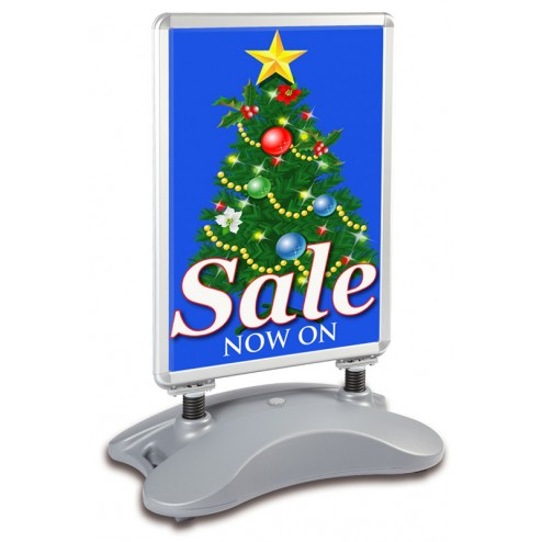 Economy Double sided free standing unit