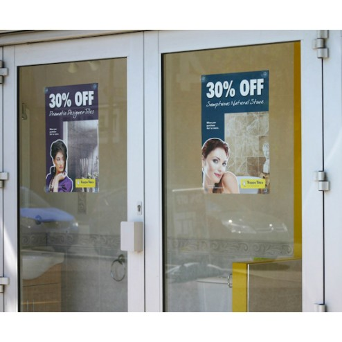 Door Window Posters