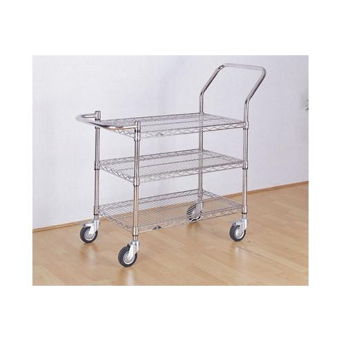 Chrome trolley