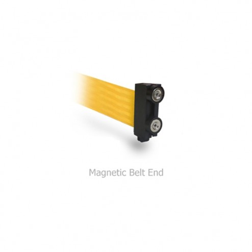 Magnetic bent end