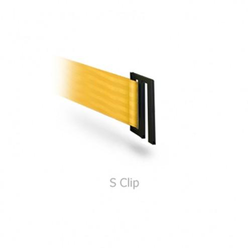 S clip belt end