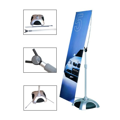 Outdoor Banner Stand - High quality fittings