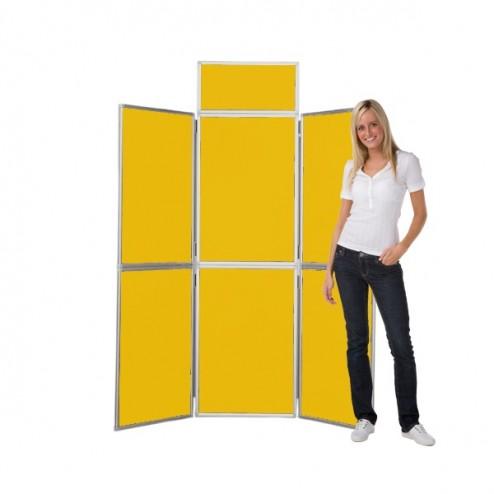Yellow Folding Stand
