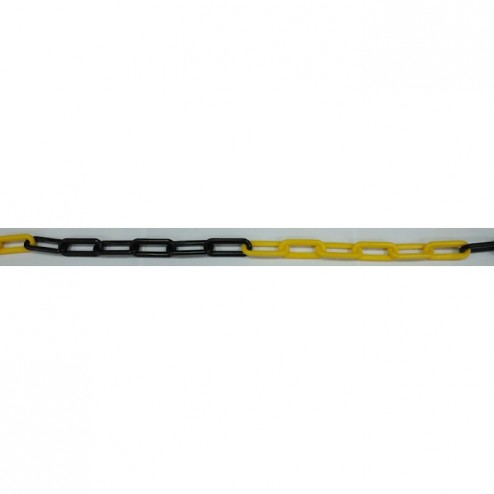 Yellow and Black 10m Chain