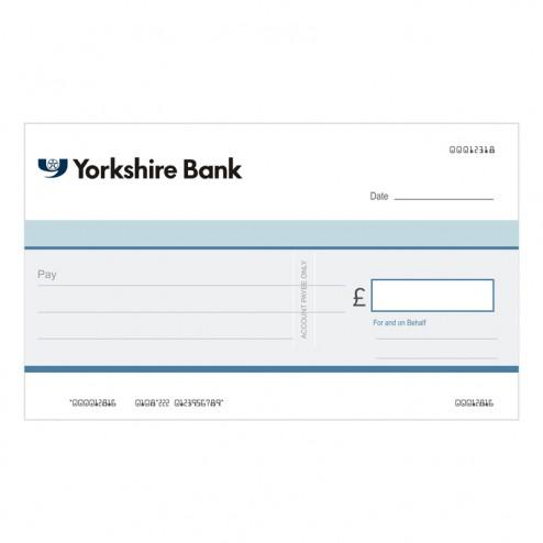 Big Cheque - Yorkshire Bank