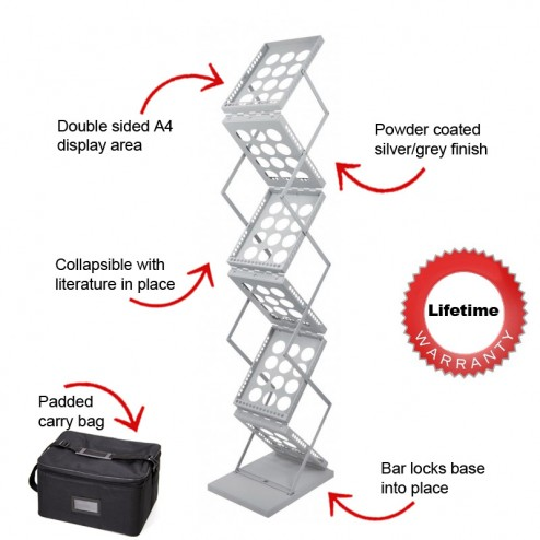 Key features of zed-up stand