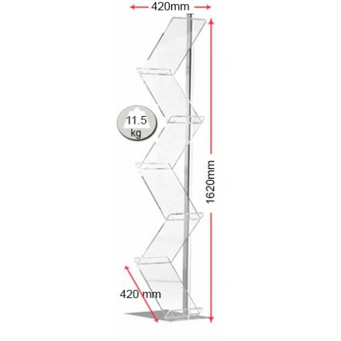 Measurements for holder