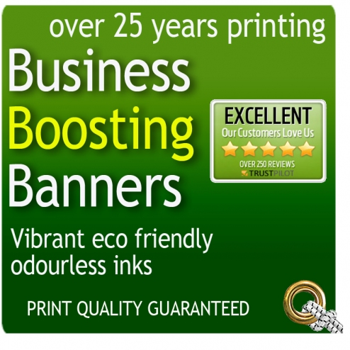 PVC banner printing for Over 25 Year