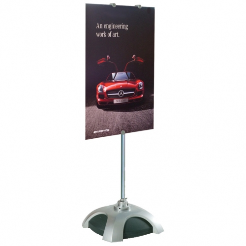 C Sign Holders Feature a Multi Panel Design