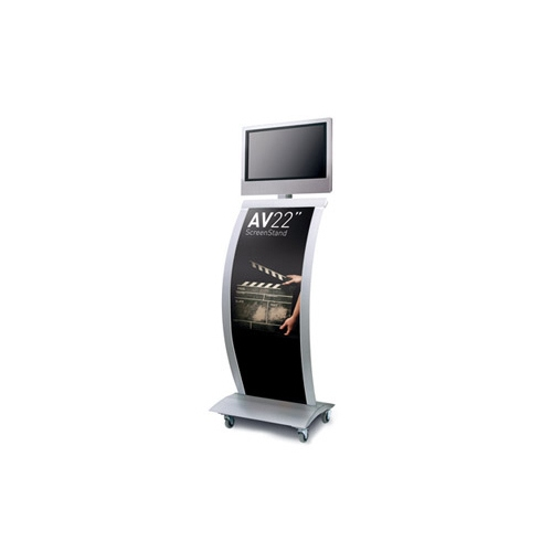 Exhibition Stand Tv Screen : Exhibition tv display stand quot av screen