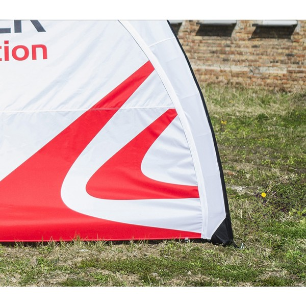 Printed tent sides