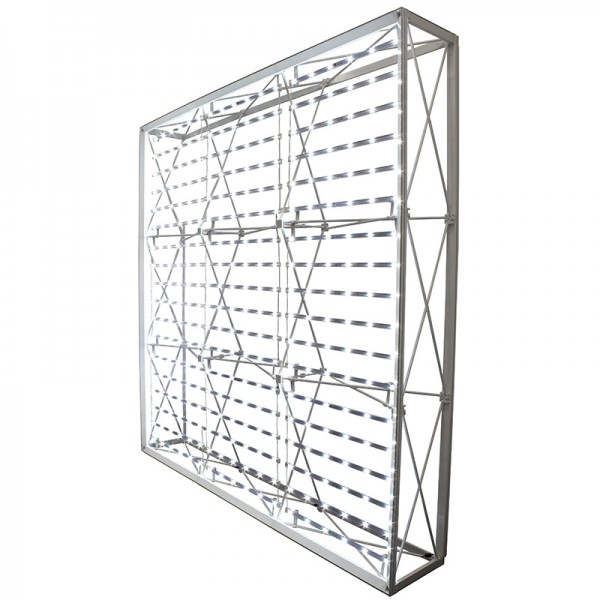 Powder Coated Frame (With LED Curtain)