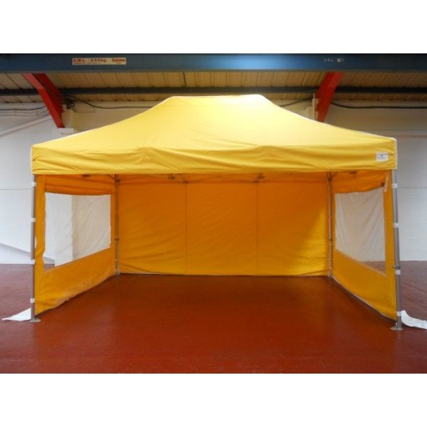 3m x 4.5m Tent with Windowed Sides