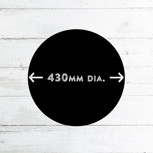 430mm Diameter Chalk Board