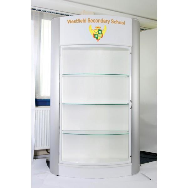 Schools trophy cabinet