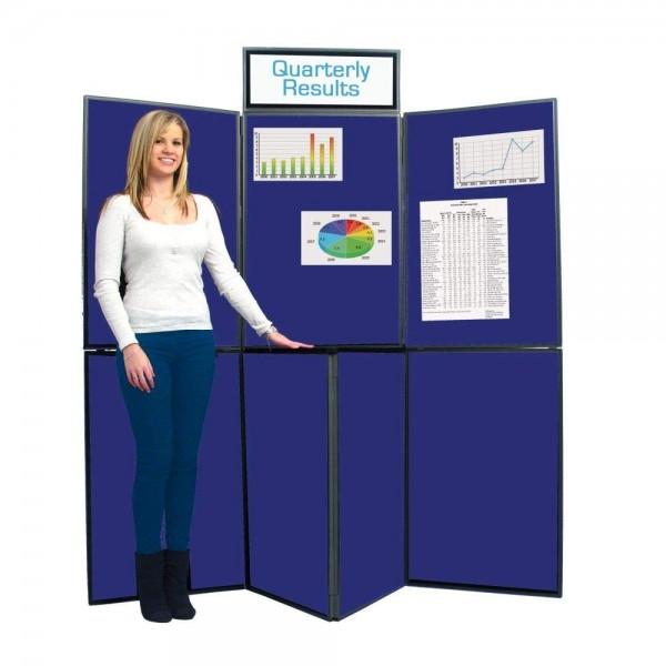 7 Panel Portable Folding Display System