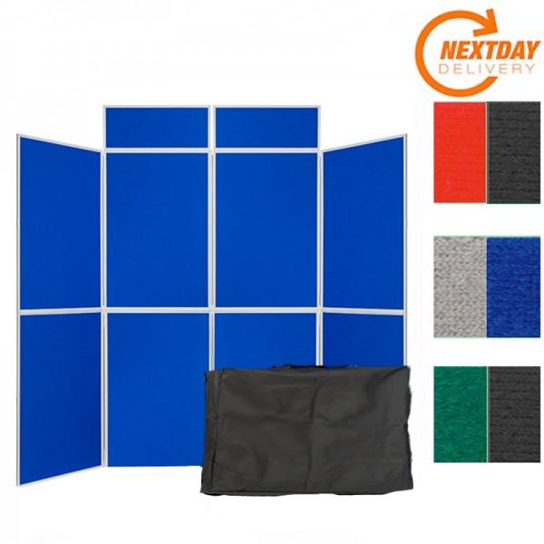 8 Panel Folding Portable Display System