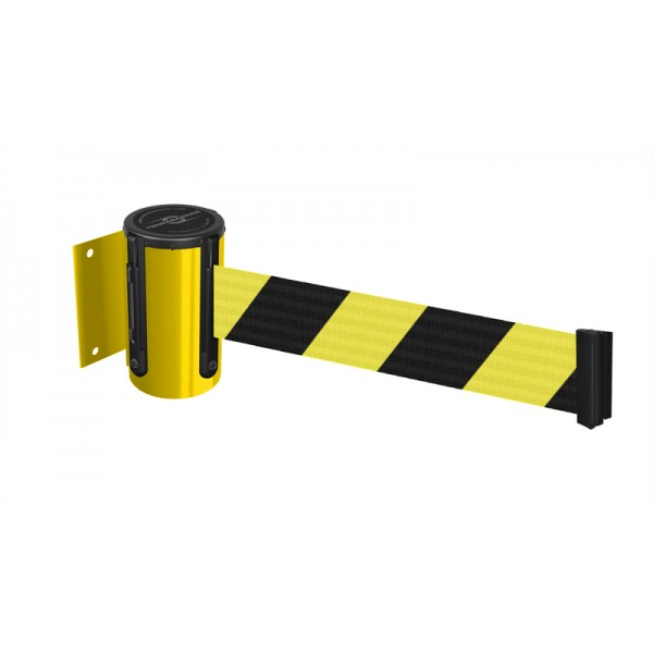 Yellow Case - Yellow/Black Chevron Belt