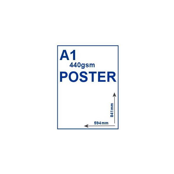 A1 440gsm PVC Poster
