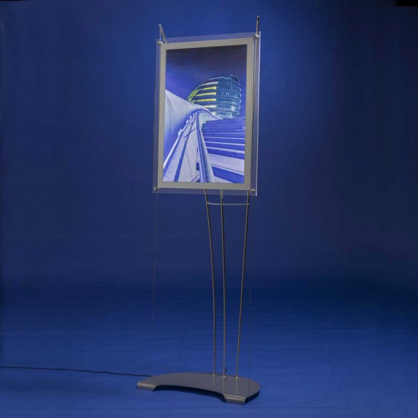 Modern D3 Display Lightscreen display