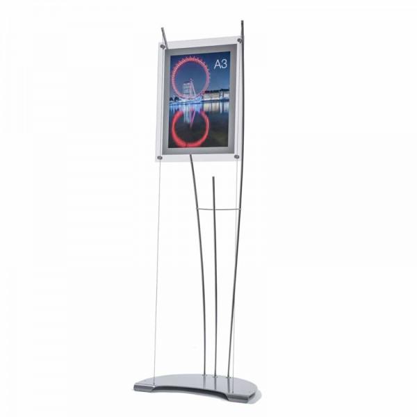 Stylish A3 display stand Portrait