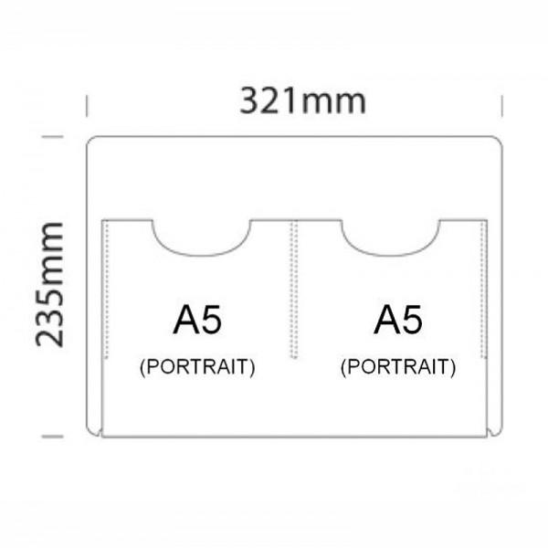 Acrylic pocket sizes