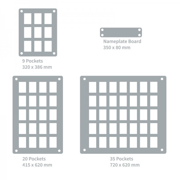 Dimensions of Size Options