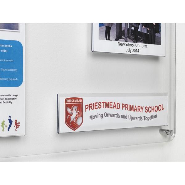 Acrylic information display