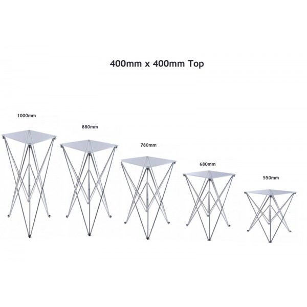 400 x 400mm Event Table