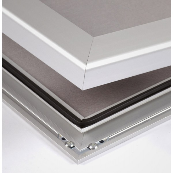 Weatherproof aluminum frame