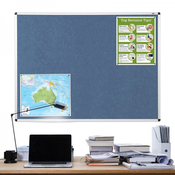 Pin Board Mounted in Office Environment