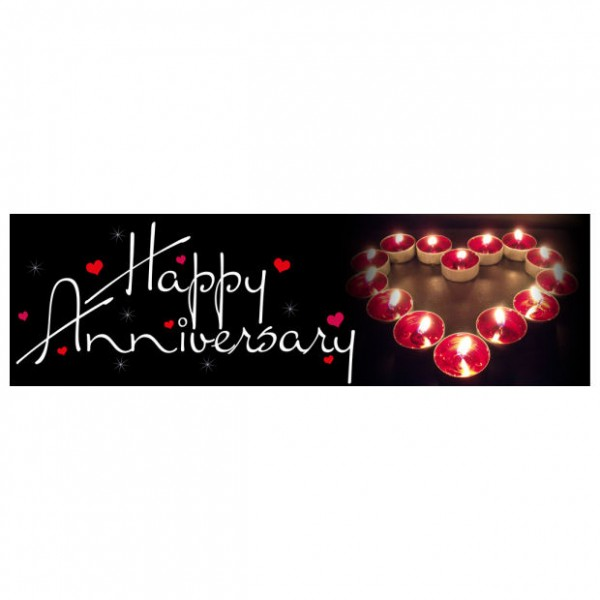 Banner - Happy Anniversary - 357