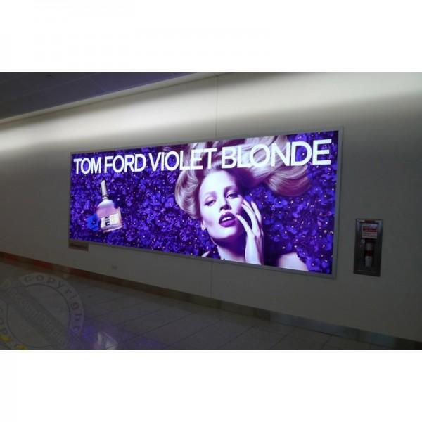 Backlit billboard
