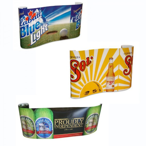 PVC banner roll with straight cut edges for you to add your own eyelets