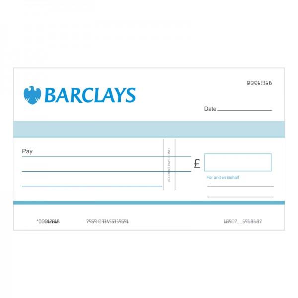 Big Cheque - Barclays