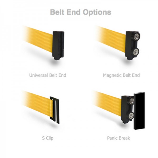 Choose the right belt end for you